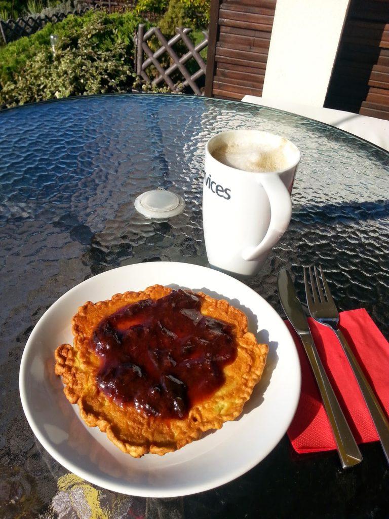 omlet kukurydziano - owsiany