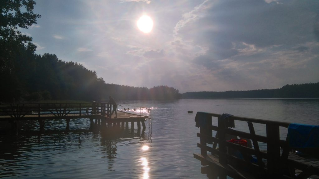 Jezioro Mikaszewo - kąpielisko Jazy www.zabiegane.com