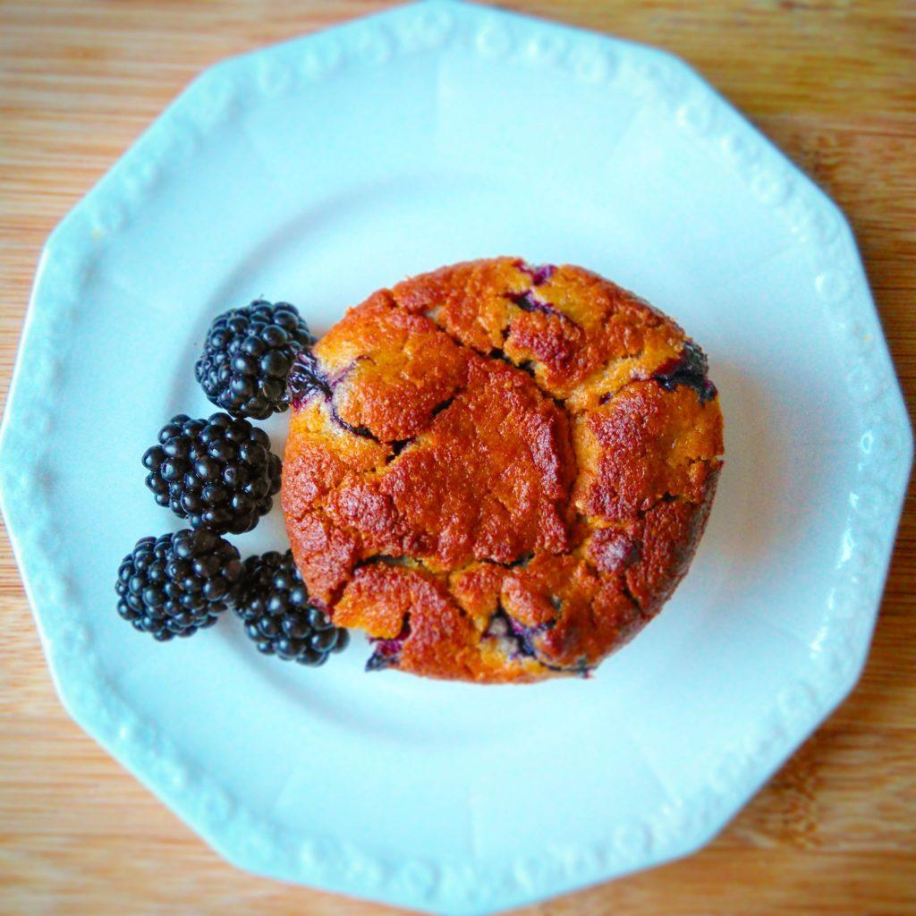 Muffiny z mąką kokosową