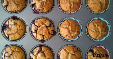 Muffiny z mąką kokosową Zabiegane.com