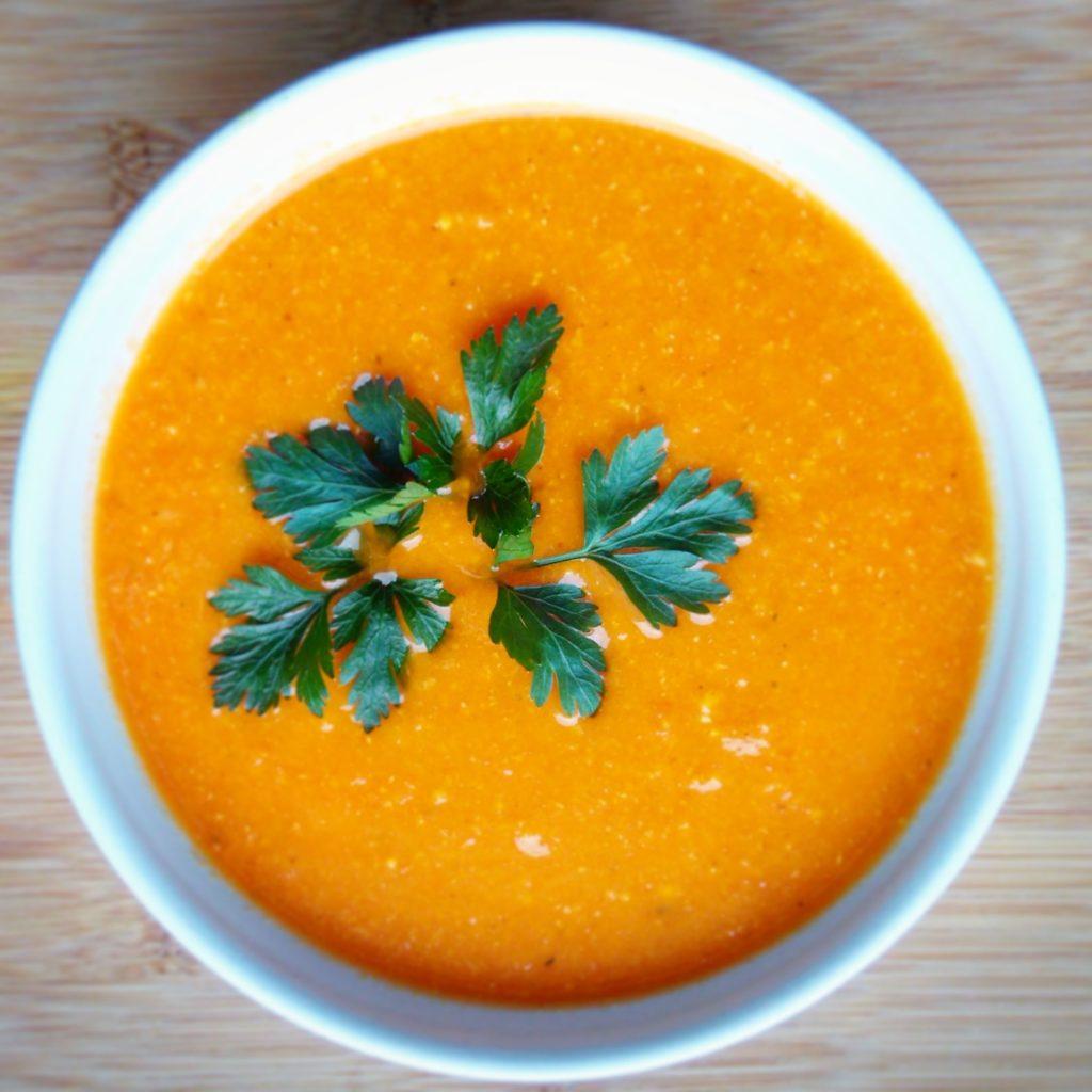 zupa krem z ciecierzycy Zabiegane.com