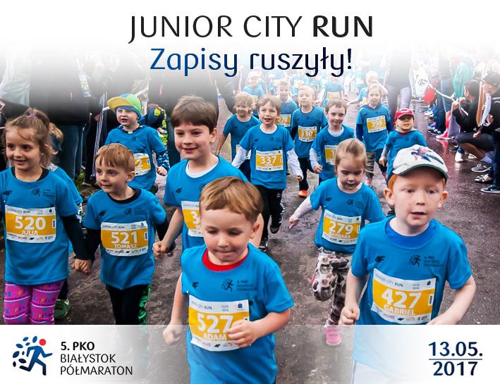 Junior City Run Białystok Zabiegane.com
