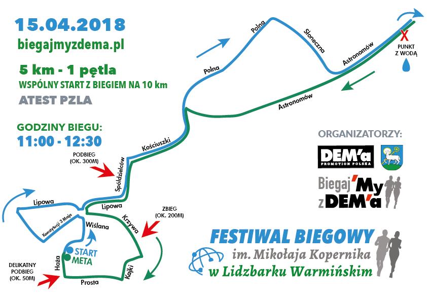 Trasa Lidzbark Warmiński kody rabatowe Zabiegane.com