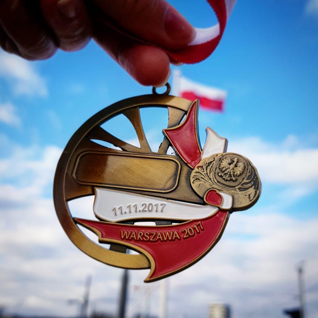 medal Bieg Niepodległości Zabiegane.com