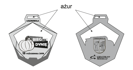 medal Bieg po Dynię Zabiegane.com
