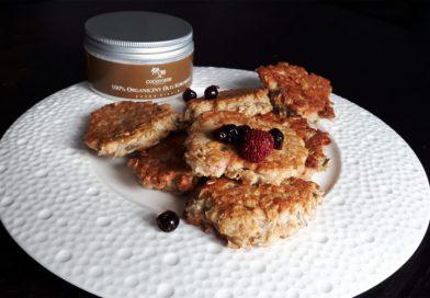 Ciasteczka owsiane z patelni – szybko i zdrowo